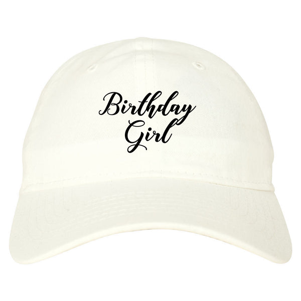Birthday Girl Party white dad hat