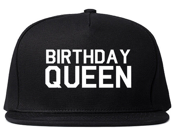 Birthday Queen Bday Black Snapback Hat