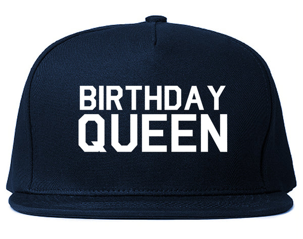 Birthday Queen Bday Blue Snapback Hat