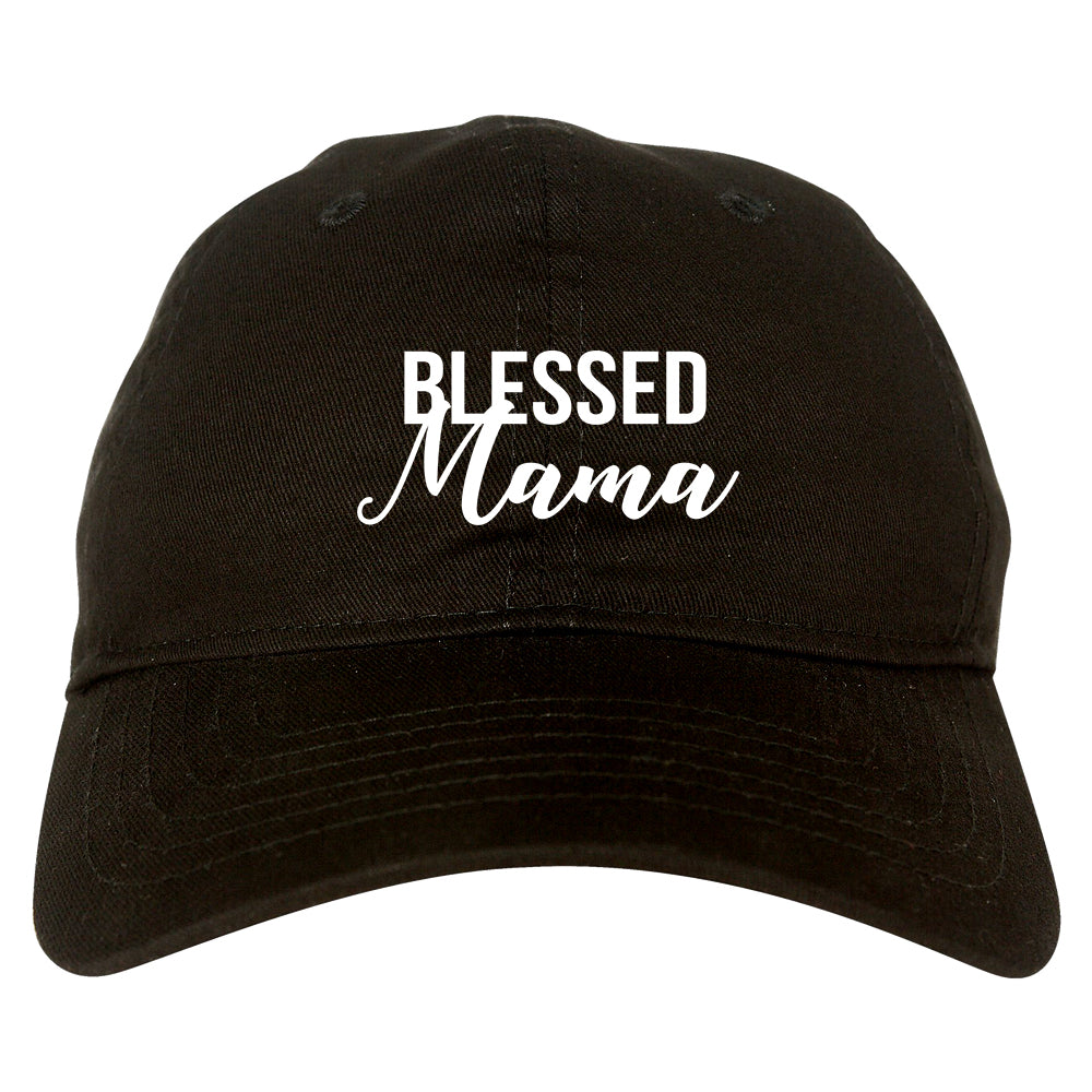 Blessed Mama Black Dad Hat
