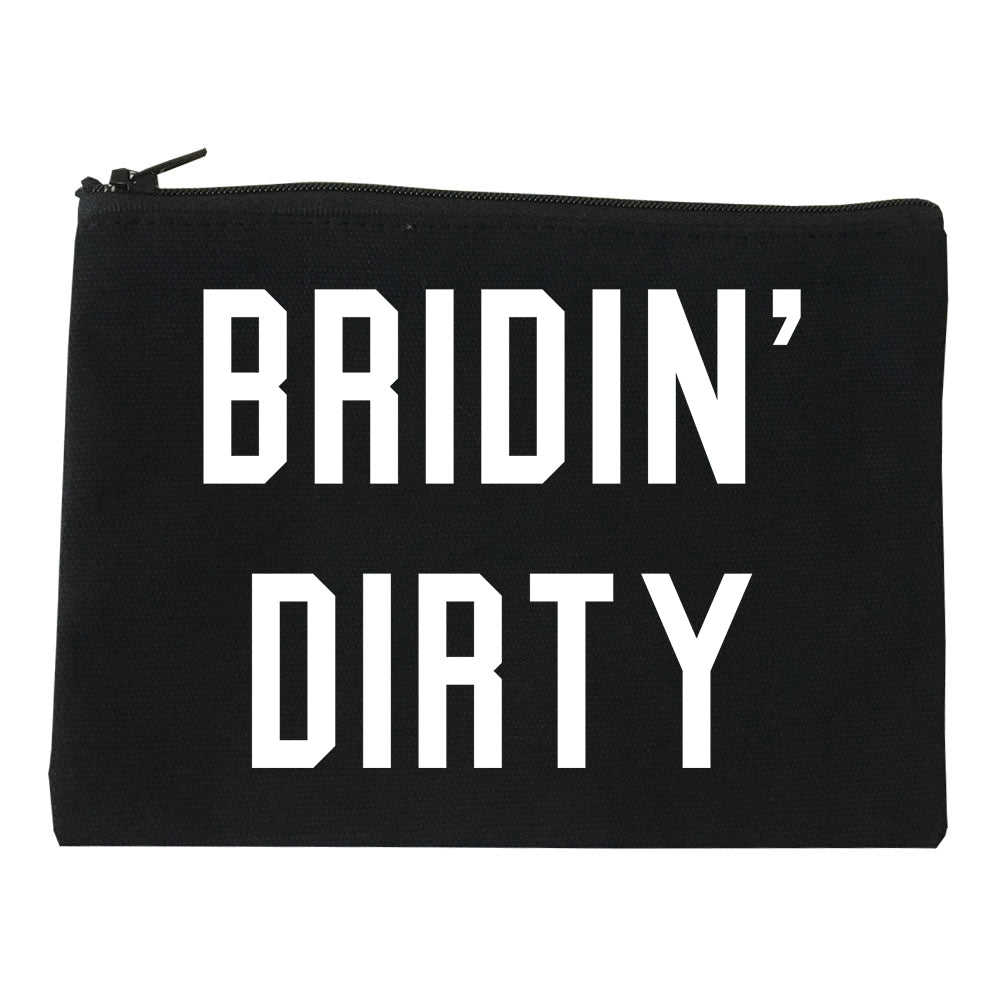 Bridin Dirty Engaged black Makeup Bag