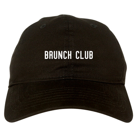 Brunch Club Black Dad Hat