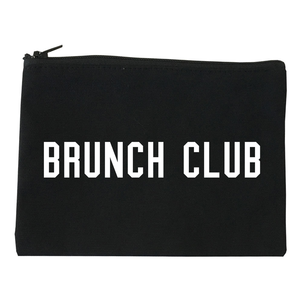 Brunch Club Black Makeup Bag