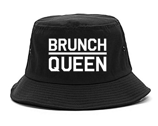 Brunch Queen Food black Bucket Hat