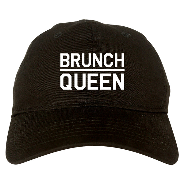 Brunch Queen Food black dad hat