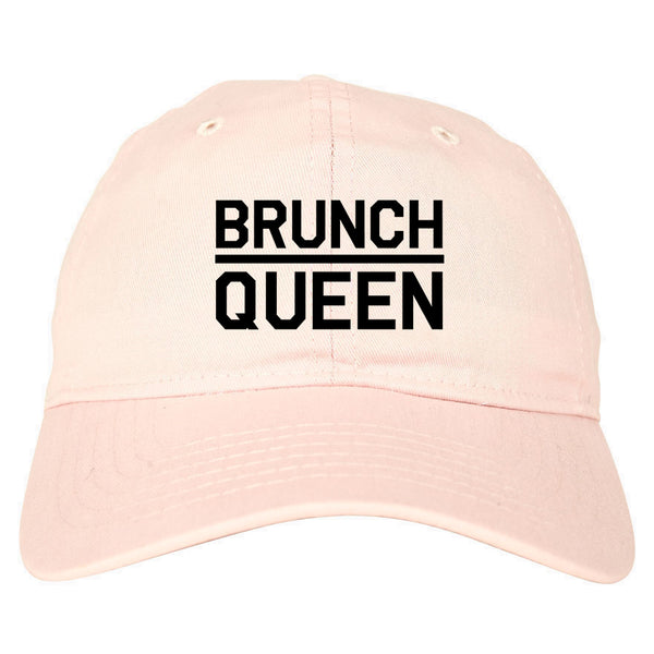 Brunch Queen Food pink dad hat