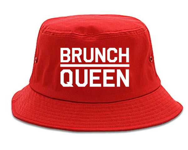 Brunch Queen Food red Bucket Hat