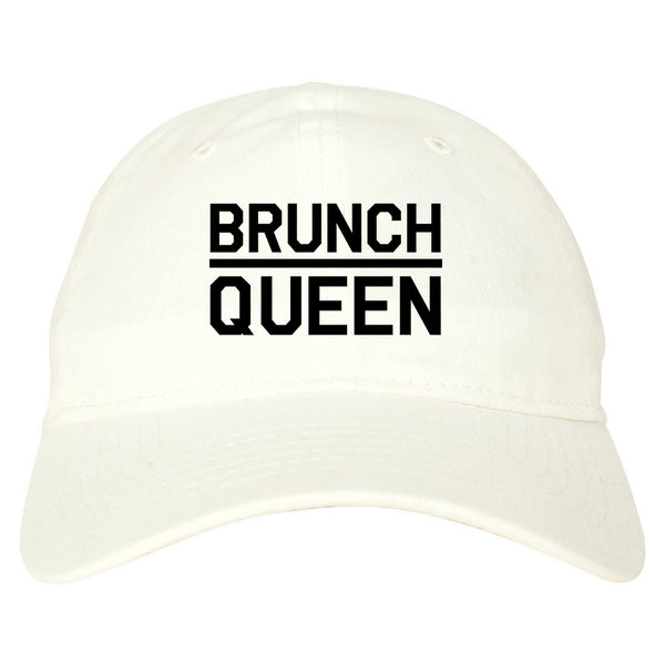 Brunch Queen Food white dad hat