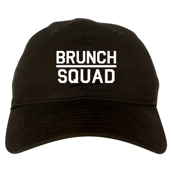 Brunch Squad Food black dad hat