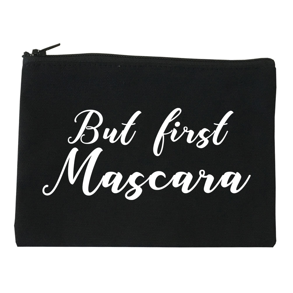 But First Mascara Makeup Black Makeup Bag