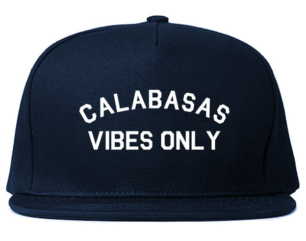 Calabasas Vibes Only California Blue Snapback Hat