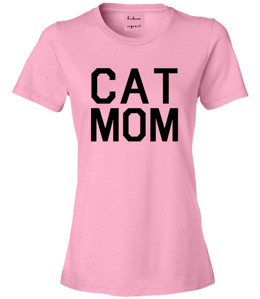 Cat Mom Cat Mother Pink T-Shirt