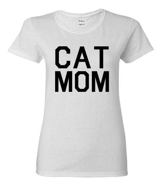 Cat Mom Cat Mother White T-Shirt