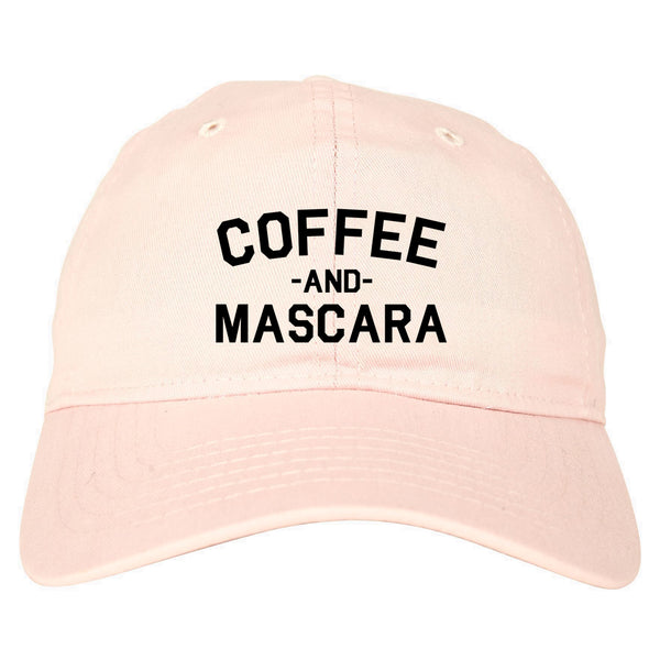 Coffee And Mascara Pink Dad Hat