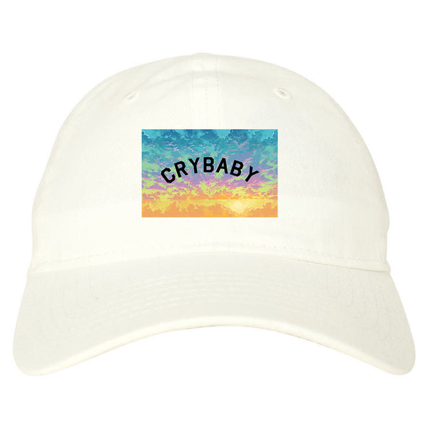 Crybaby Tie Dye Box white dad hat