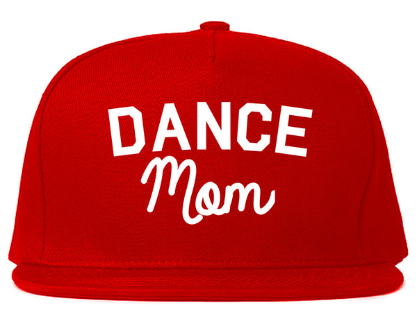 Dance Mom Life Mother Gift Snapback Hat Red