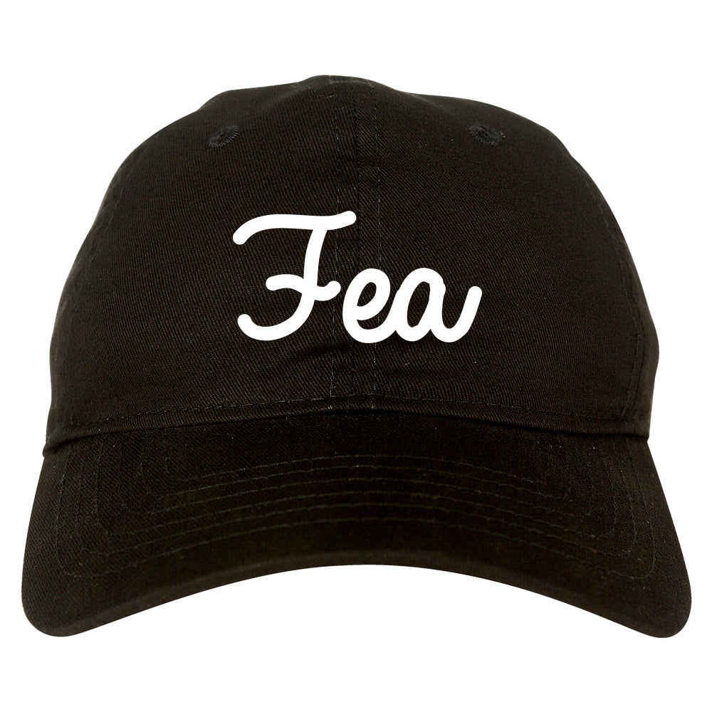 Fea Ugly Spanish Chest black dad hat