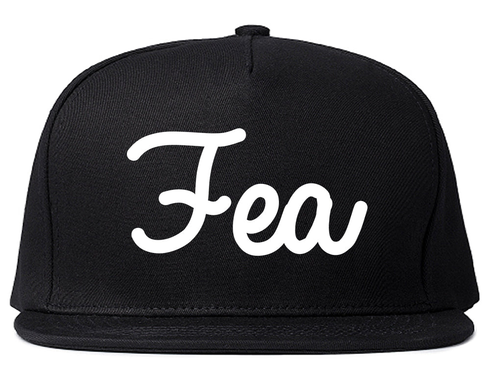 Fea Ugly Spanish Chest Black Snapback Hat
