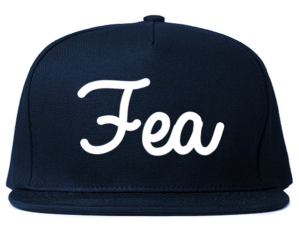 Fea Ugly Spanish Chest Blue Snapback Hat