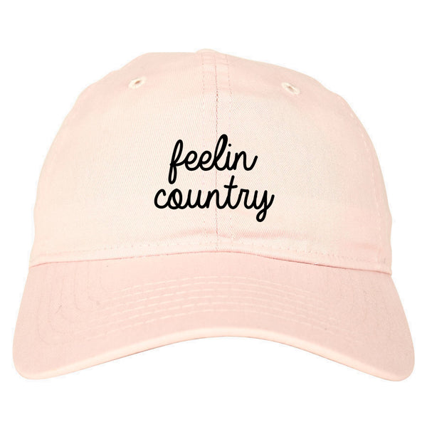 Feeling Country Texas Pink Dad Hat