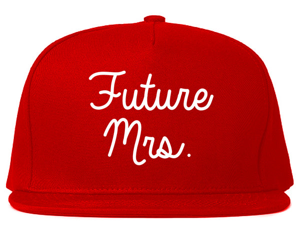 Future Mrs Bridal Shower chest Red Snapback Hat