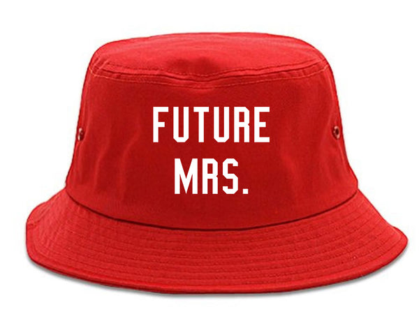 Future Mrs Bride Bridal Shower red Bucket Hat
