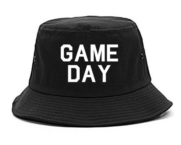 Game Day Sports Black Bucket Hat
