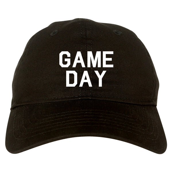 Game Day Sports Black Dad Hat