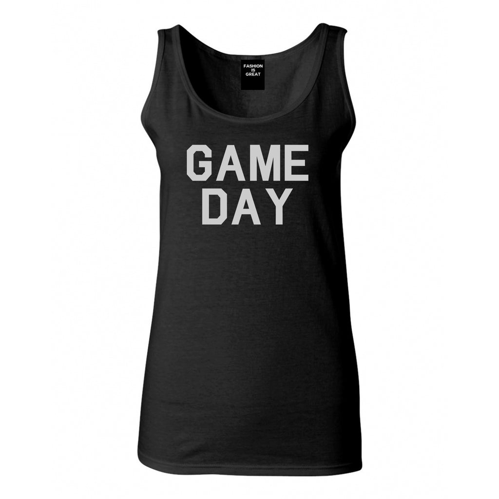 Game Day Sports Black Tank Top