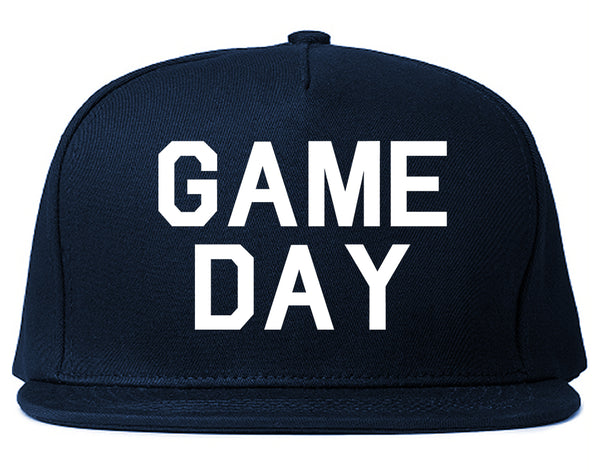 Game Day Sports Blue Snapback Hat