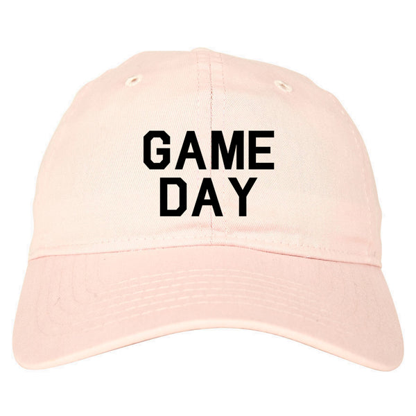 Game Day Sports Pink Dad Hat