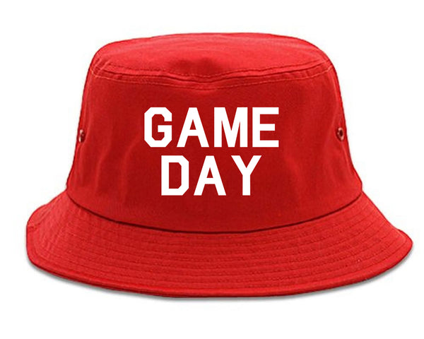 Game Day Sports Red Bucket Hat