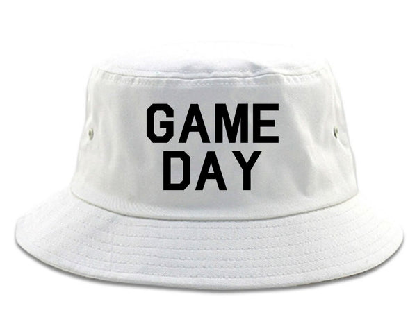 Game Day Sports White Bucket Hat