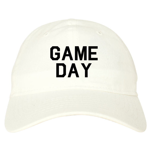 Game Day Sports White Dad Hat