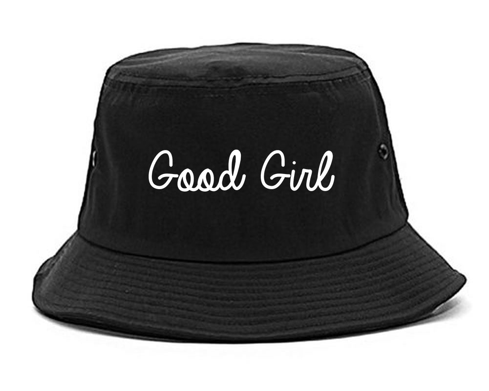 Good Girl Black Bucket Hat