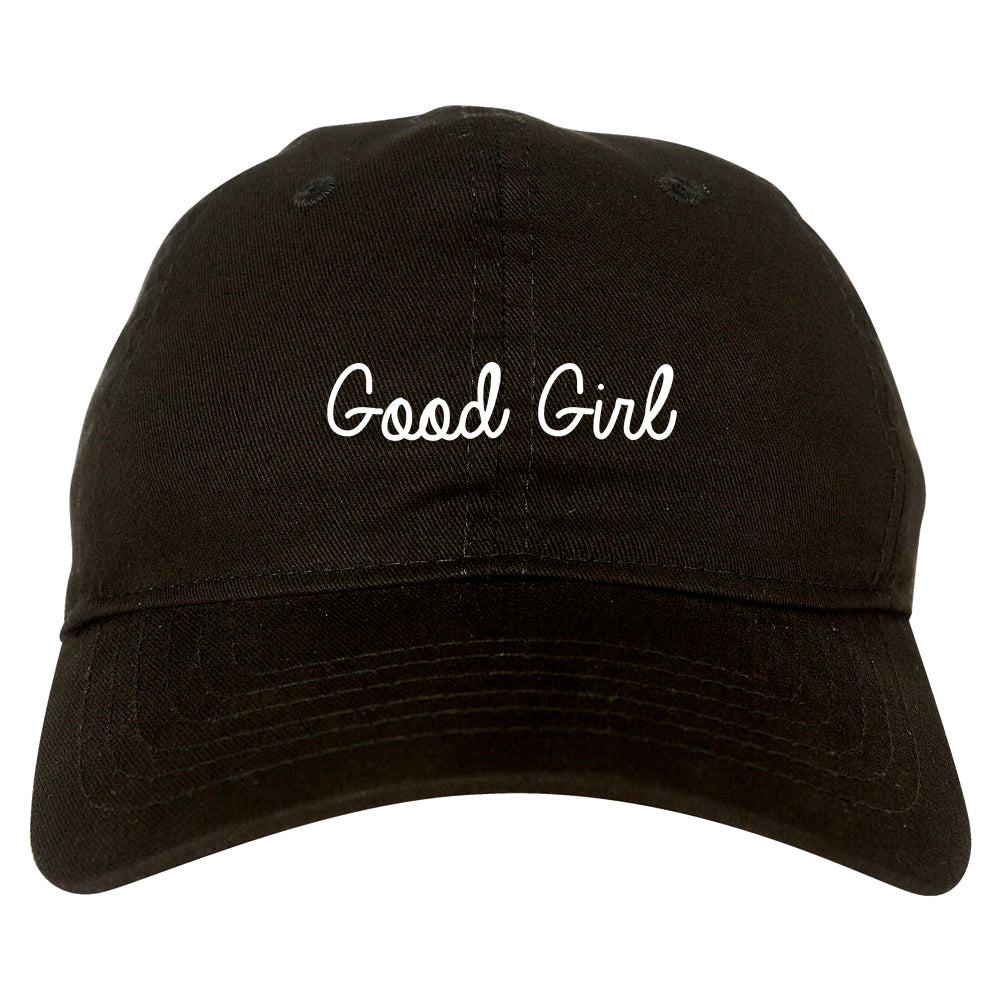 Good Girl Black Dad Hat