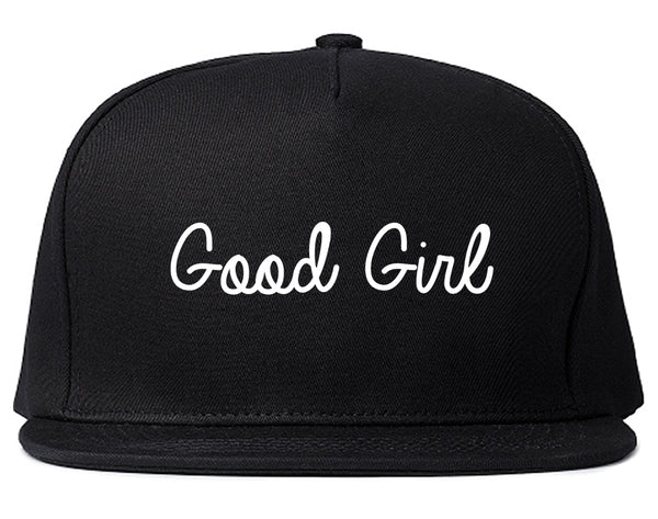 Good Girl Black Snapback Hat