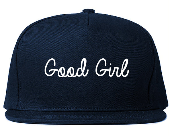 Good Girl Blue Snapback Hat