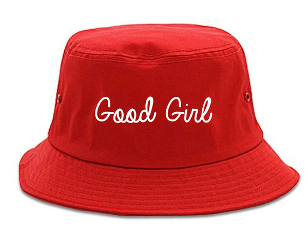 Good Girl Red Bucket Hat