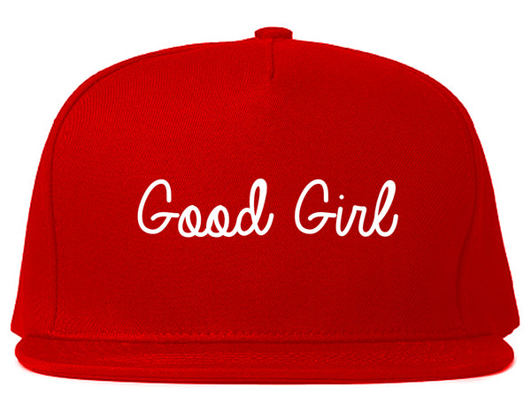 Good Girl Red Snapback Hat