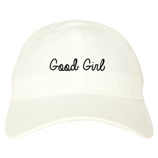 Good Girl White Dad Hat
