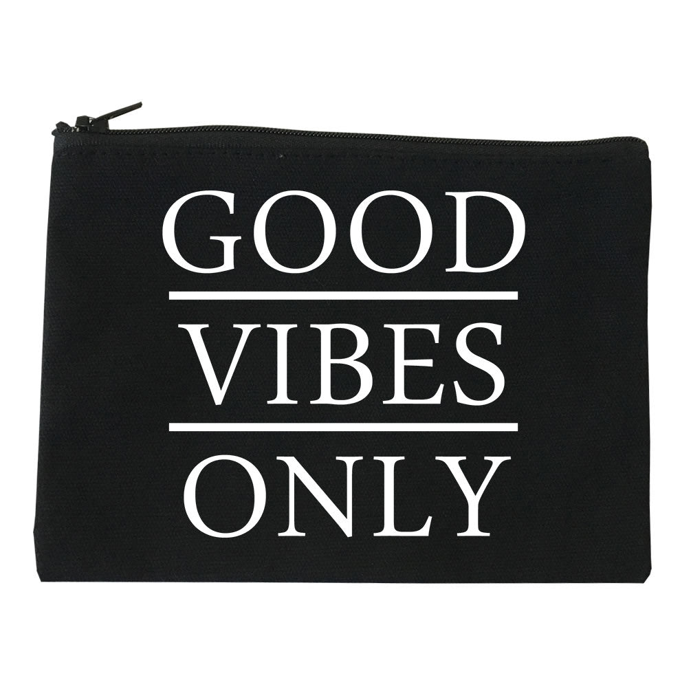 Good Vibes Only Makeup Bag