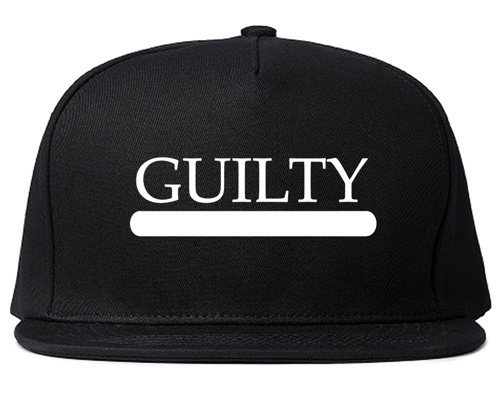 Guilty Fashion Snapback Hat Black