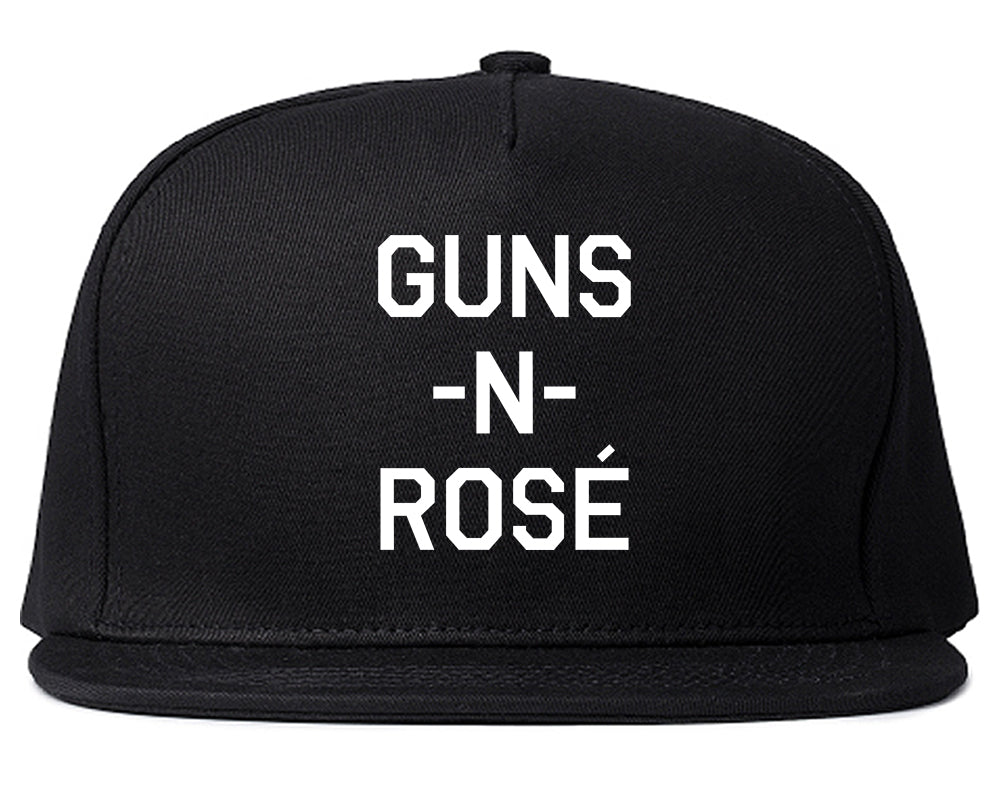 Guns And Rose Funny Concert Black Snapback Hat
