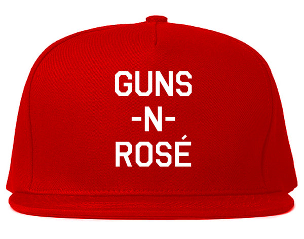 Guns And Rose Funny Concert Red Snapback Hat