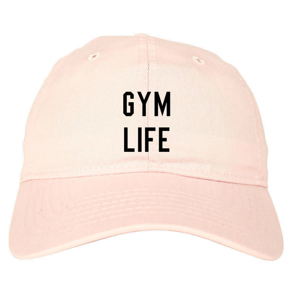 Gym Life Pink Dad Hat