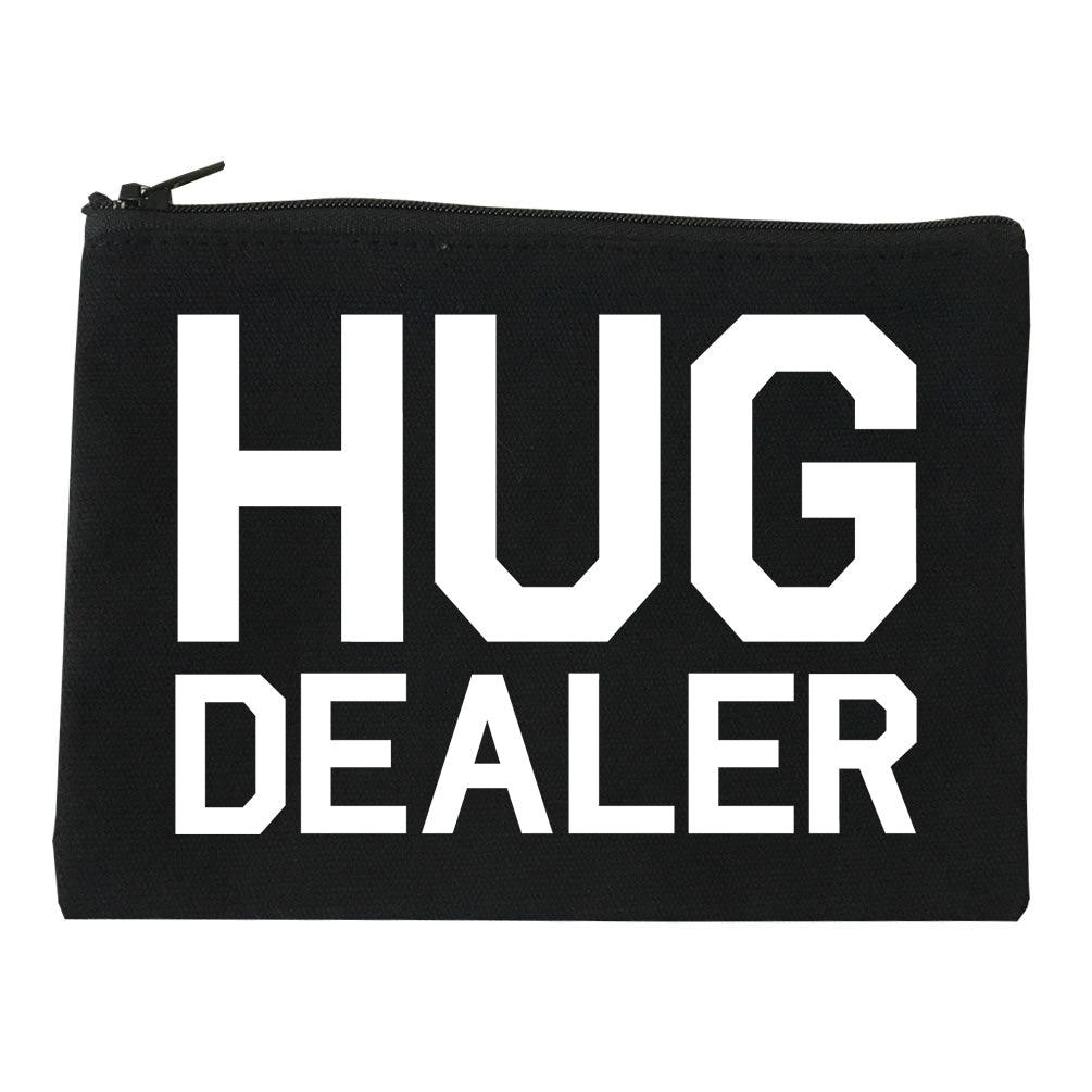 Hug Dealer Black Makeup Bag