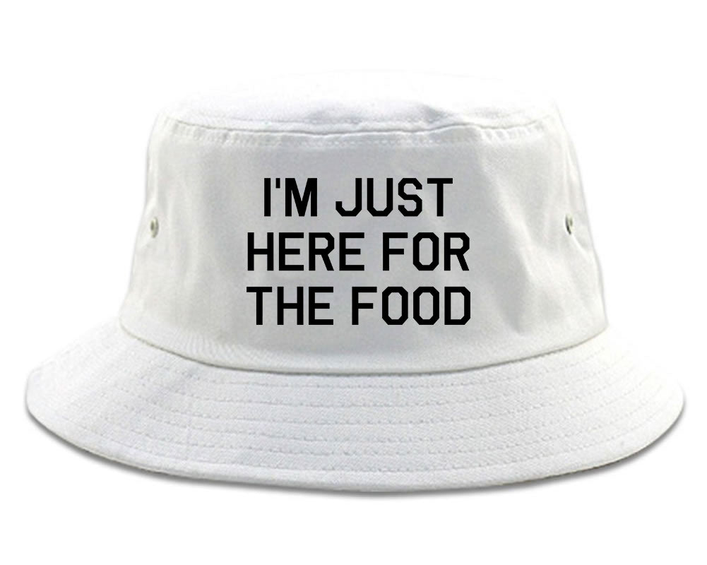 Im Just Here For The Food Bucket Hat by Fashionisgreat – FashionIsGreat b05137081ab