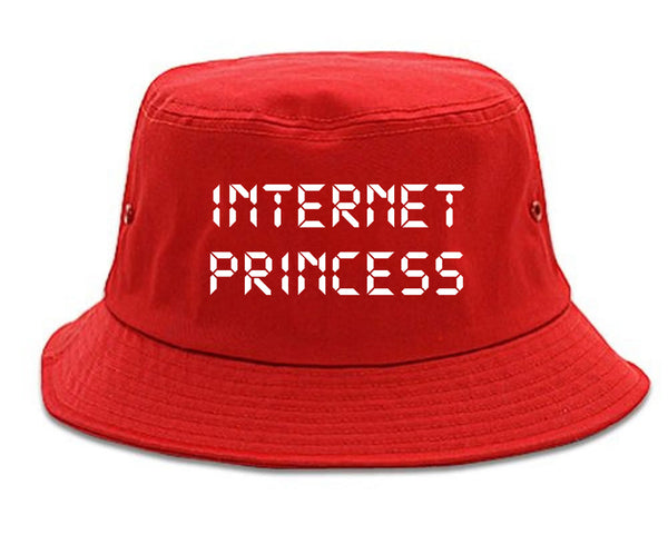 Internet Princess Wifi red Bucket Hat