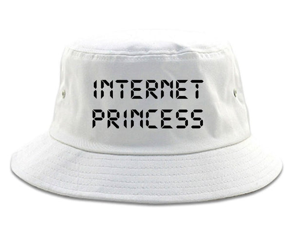 Internet Princess Wifi white Bucket Hat